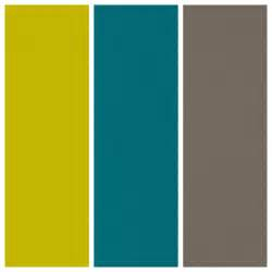 color scheme chartreuse teal taupe decorating like a