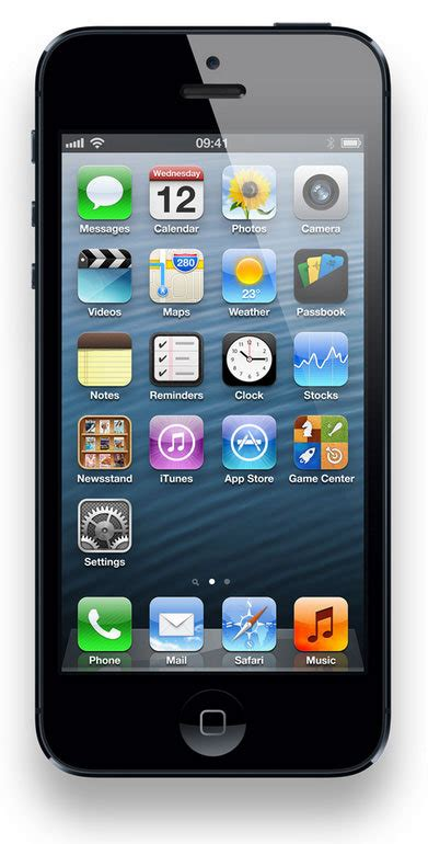 Iphone 4s Icons Top Bar by What Are The New Iphone 5 Features Pc Advisor