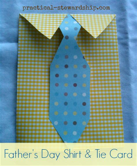 S Day Card Templates Shirt And Tie by Diy S Day Dress Shirt And Tie Card Practical