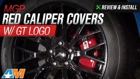 Cover Califer N Max Vixion 2015 2017 mustang mgp caliper covers w gt logo review install