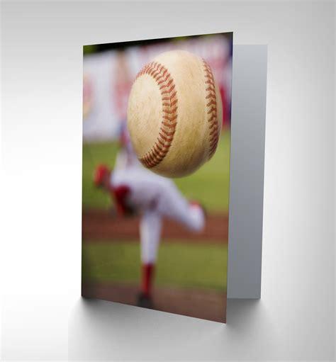 Mlb Gift Cards - baseball bowler sport ball birthday gift blank greetings card cp1051