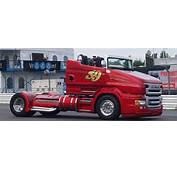 The Scania R999 V8 Red Pearl Is A Roadster Truck That Does