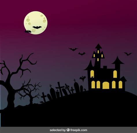 descargar imagenes de halloween gratis paisaje de halloween descargar vectores gratis