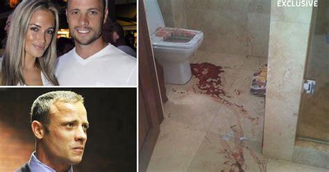 reeva steenk bathroom reeva steenk oscar oscar pistorius shooting shocking picture of blood soaked