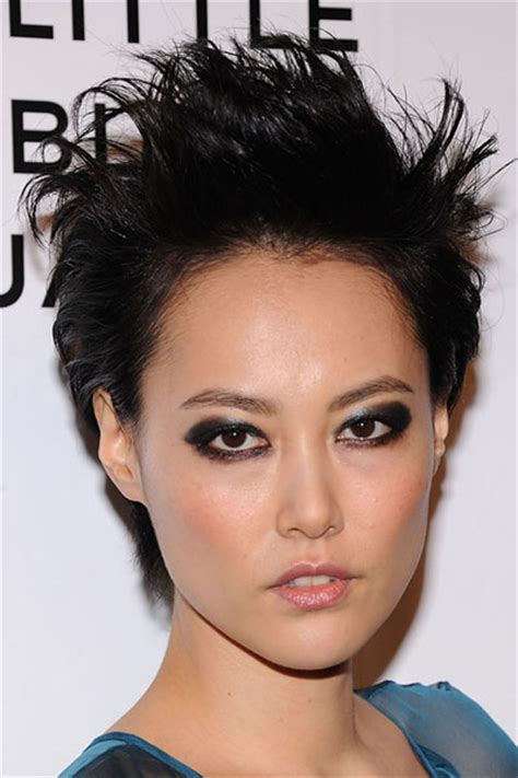 rinko kikuchi short hair photo gallery of chinese japanese korean hairstyles