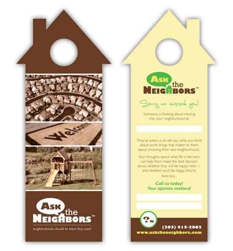 door flyer template real estate door hanger marketing door hanger ideas