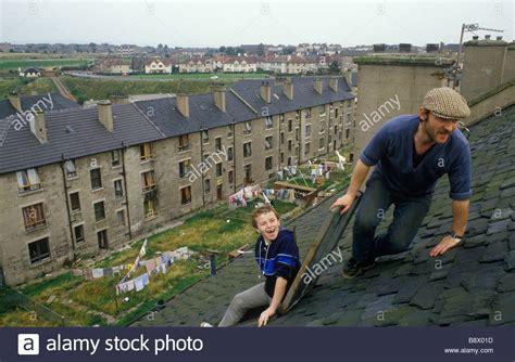 houses to buy glasgow blackhill estate glasgow scotland tenement houses glasow uk young stock photo