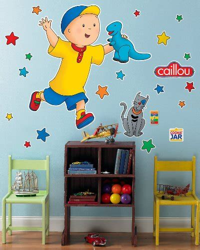 caillou painting caillou wall decals renovation store
