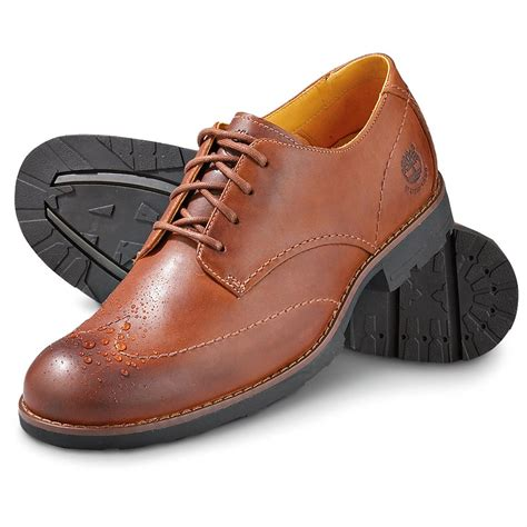 s timberland 174 waterproof luke wingtips brown 139710