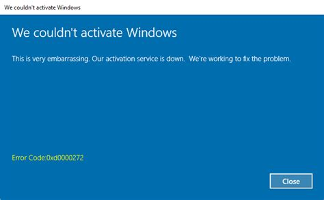 resetting windows xp activation can t activate windows 10 after reset from windows 10