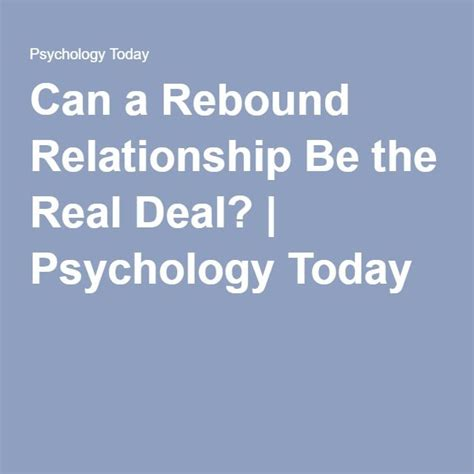 Ways To Deal With A Rebound Relationship by Best 25 Rebound Relationship Ideas On Rebound