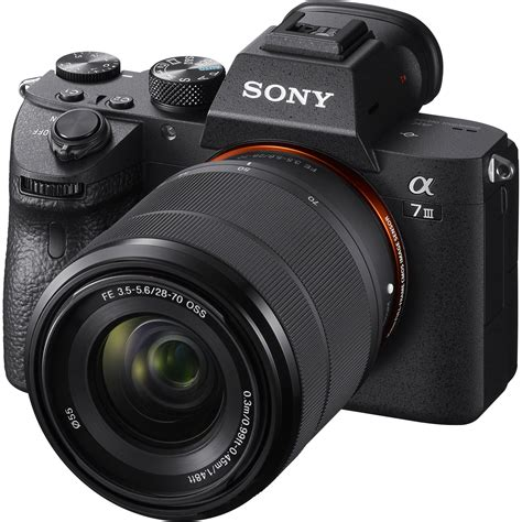 Sony A7 Kamera Mirrorless sony alpha a7 iii mirrorless digital ilce7m3k b b h