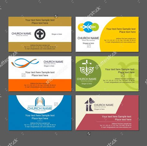 church business cards templates free 25 church business card templates free premium