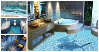Awesome bathroom 3d floor designs