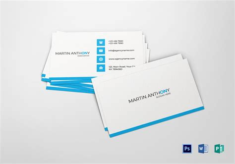 create your own publisher business cards