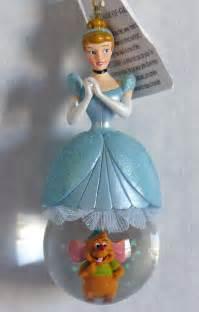 Cinderella Ornaments - disney cinderella snow globe ornament new
