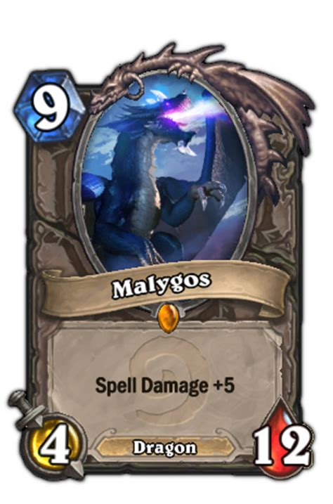 hearthstone legendary card template malygos hearthstone heroes of warcraft wiki fandom