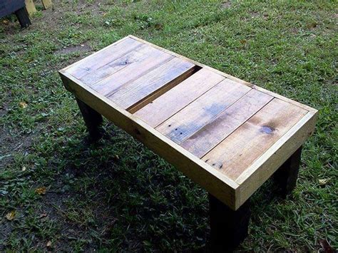coffee table bench diy diy sturdy pallet coffee table bench 99 pallets
