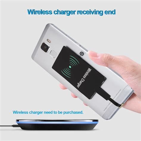 wireless phone charger for android z5 qi wireless charger 5v receiver adapter standard micro usb android cell phone ebay