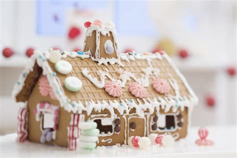gingerbread home decor how to make and assemble a gingerbread house from scratch