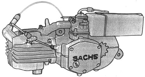 Sachs Moped Motor Parts by Sachs Engine 171 Myrons Mopeds