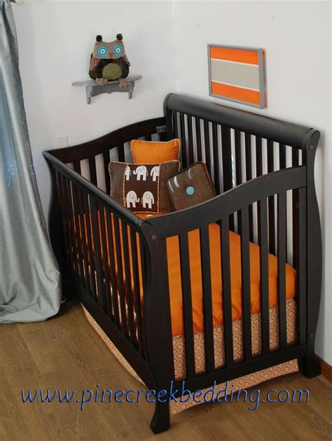 Brown And Orange Crib Bedding by 153 Best Images About Animal Theme Nursery On