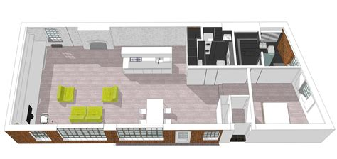 image gallery loft plans gallery of bermondsey warehouse loft apartment form