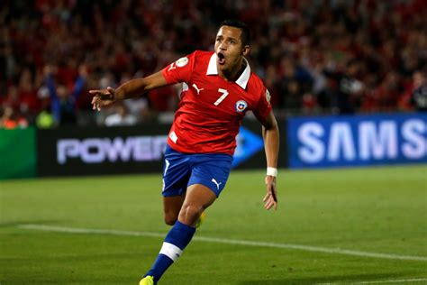 alexis sanchez goal for chile alexis sanchez quot el ni 241 o maravilla quot all 31 goals for chile