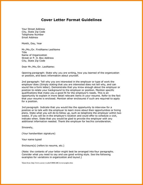 cover letter template variation cover letter template