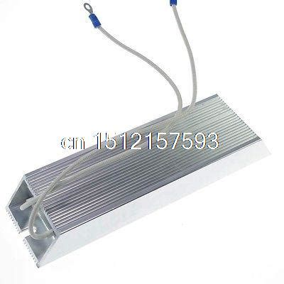 wire wound braking resistor 1 300w aluminum housed braking resistor wire wound resistor 3 ohm in switches from home