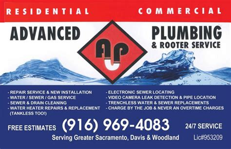 Advanced Plumbing Service by Advanced Plumbing Rooter Service Inc About Us