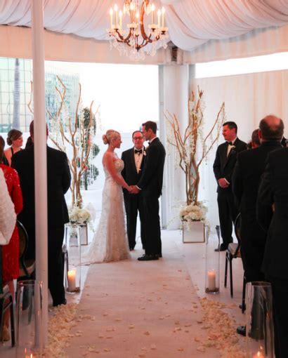 wedding rental orlando grand bohemian and steven s sleek modern wedding