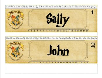 printable harry potter name tags harry potter name plates publisher by tara hollan s
