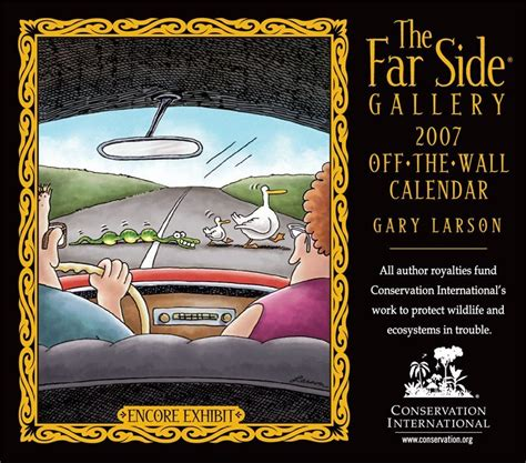 Far Side Desk Calendar by Best Comic Calender Neogaf