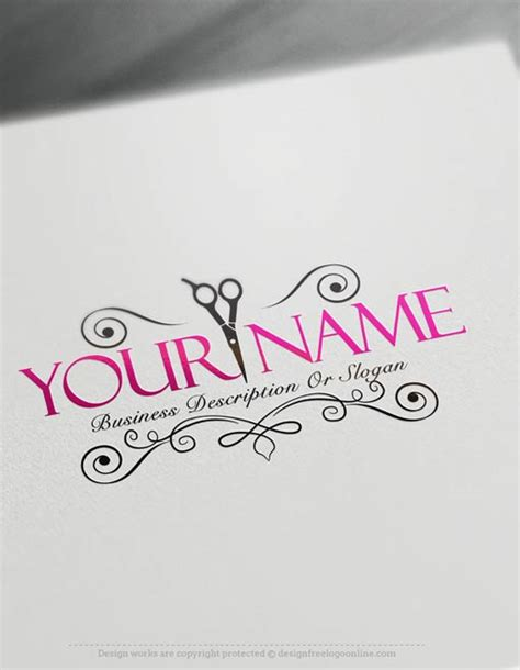 exclusive logo design hair salon logo images free
