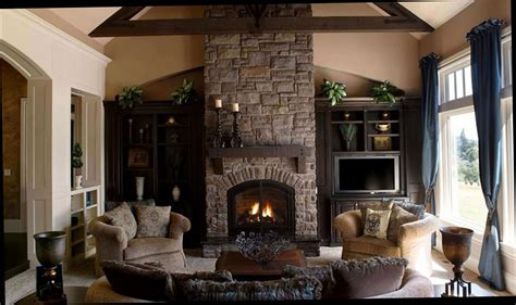 Family Room Design Ideas With Fireplace | family room decorating ideas with fireplace