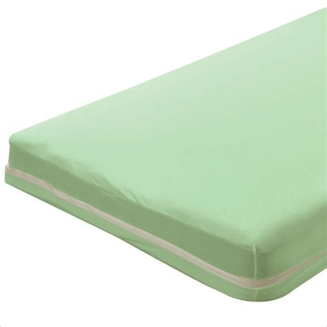 Cost Of Crib Mattress Bargoose Zippered Portable Crib Mattress Sheets Covers 25 5x37x1 Mint 6 Per Price Per Each