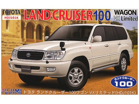 Tamiya Toyota Land Cruiser 100 Wagon 1 24 toyota land cruiser 100 wagon vx limited by fujimi hobbylink japan
