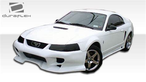 99 04 mustang side skirts 99 04 ford mustang vader duraflex side skirts kit