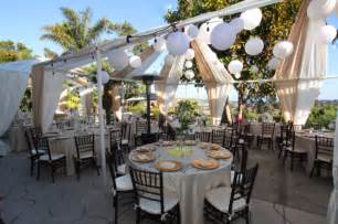 backyard reception outstanding backyard wedding arrangement ideas