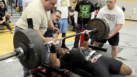 450 pound bench press selma high plays host to powerlifting event the selma