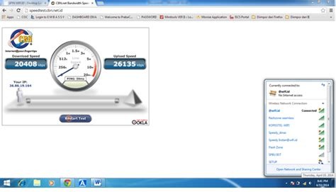 Dan Kecepatan Wifi Id palmed aprianto gunakan wifi id untuk ber internetan