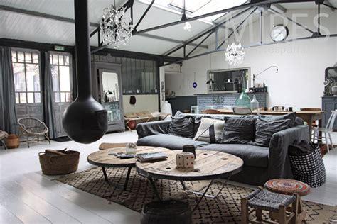 Loft Moderne Salon by Grand Salon Pour Loft Gris C0950 Mires
