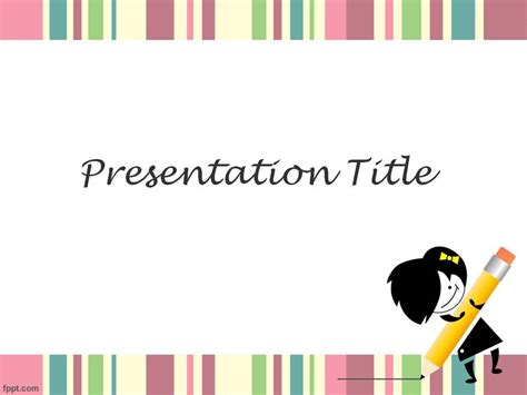 cute powerpoint template 7 แจก powerpoint template สวยๆ