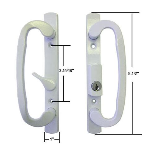 Keyed Patio Door Handle Cheap Sliding Patio Door Hardware
