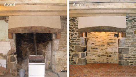 chemin馥 cuisine ancienne rnovation chemine ancienne cheap chemine briques et