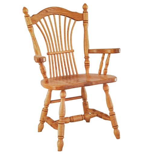 Intotal Verwood Dining Arm Chair Oak Furniture