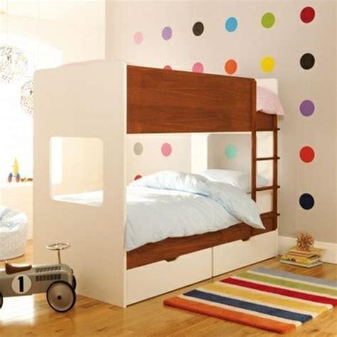 moderne kinderzimmer moderne wandgestaltung kinderzimmer punkten hochbett