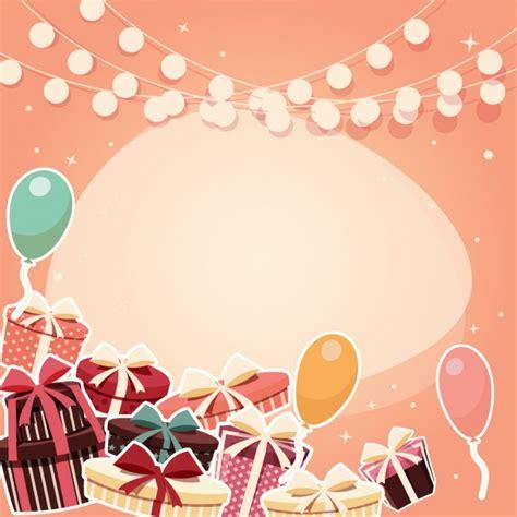 background design birthday coloured birthday background design vector free download