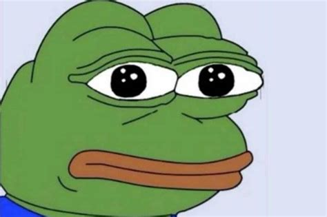Meme Frog - pepe the frog declared hate symbol by adl after alt right